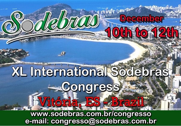XL  International Sodebras Congress